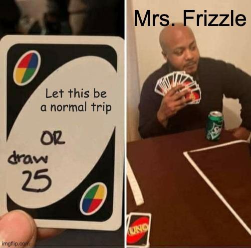 mrs. frizzle is back - meme