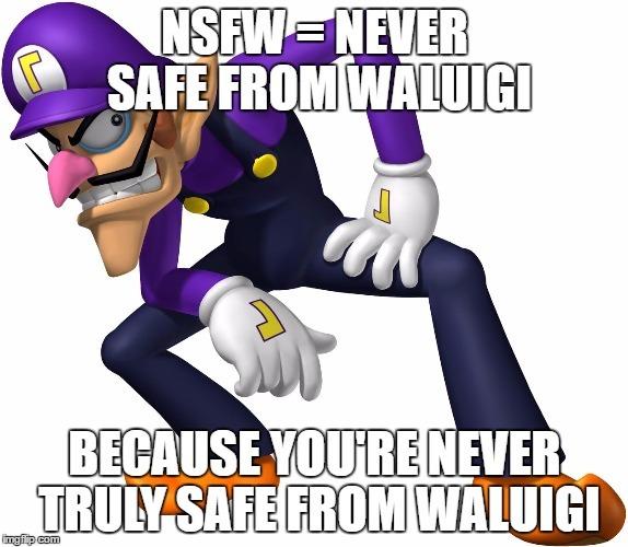 Never safe. Keep running - meme