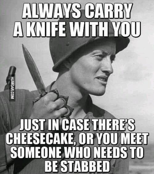 I carry an OKC Rat 2 - meme