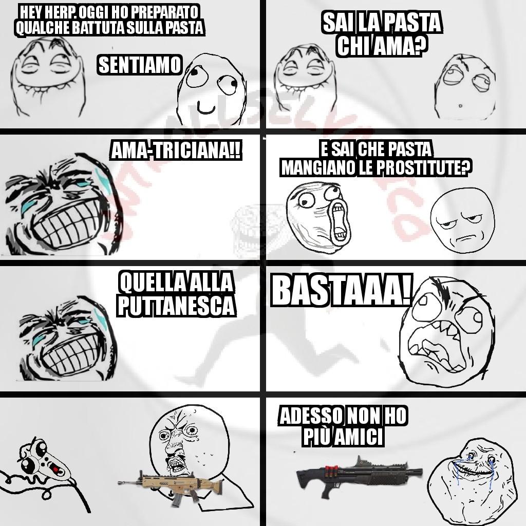 Un altro rage memes pastoso