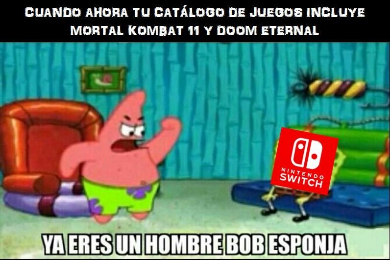 No tengo nada contra Nintendo pero me sorprendió la noticia - meme