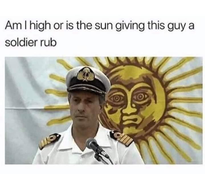 Just a rub - meme