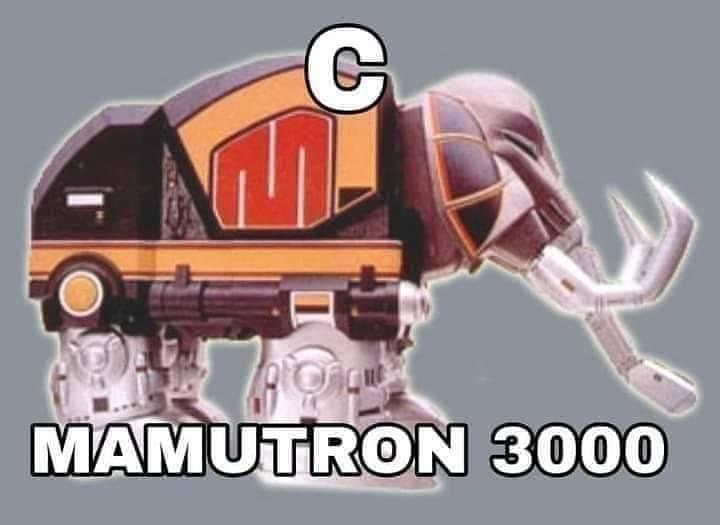 C mamutron - meme