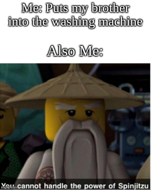 The Washing Machine - meme