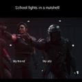 School fights