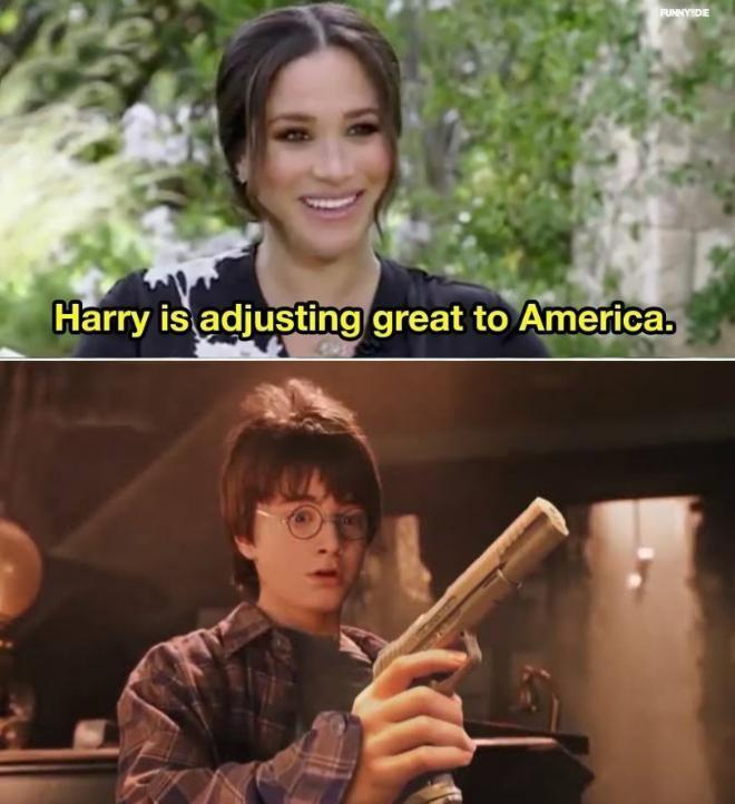 You're an American, Harry - meme