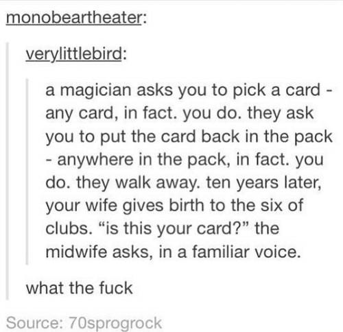 Best card trick ever - meme