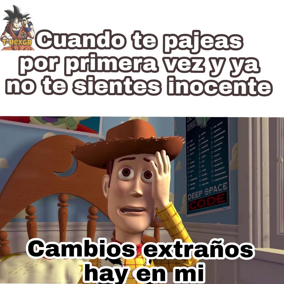 Adiós inocencia - meme