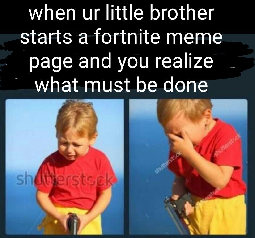 im the brother - meme