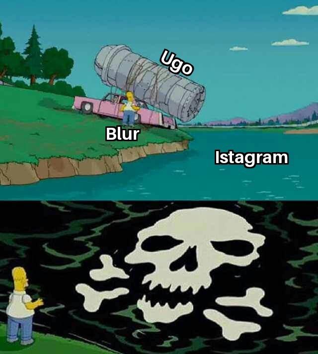 Per fortuna non ci sono su facebook - meme