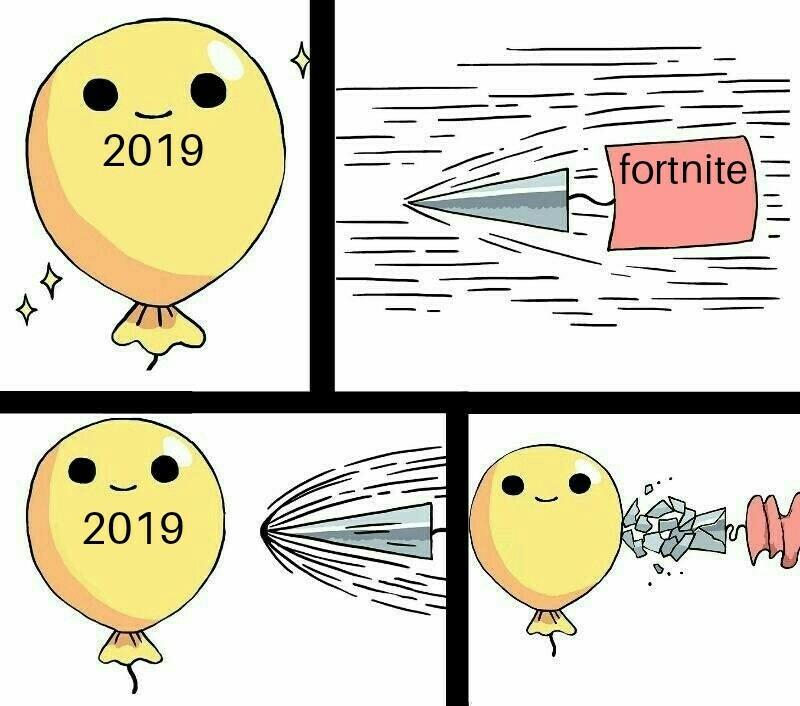 Fortnite est mort - meme