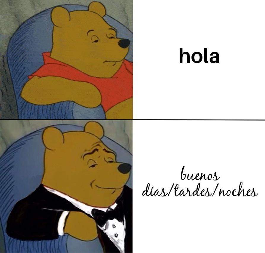 Buenos días By CopyGameplays - meme