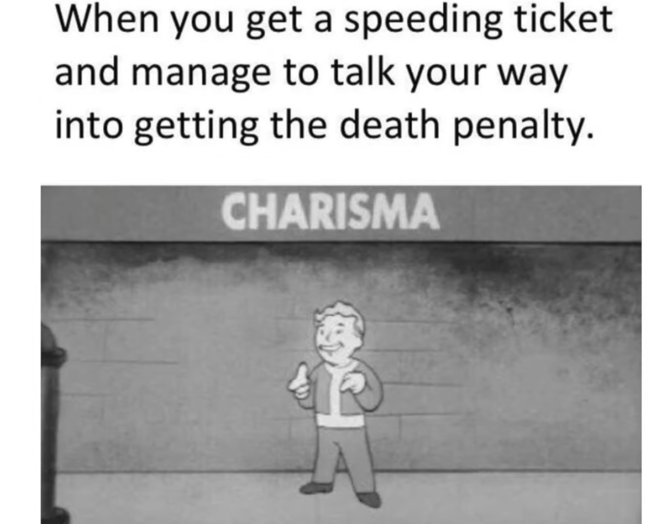 Charisma 10 - meme