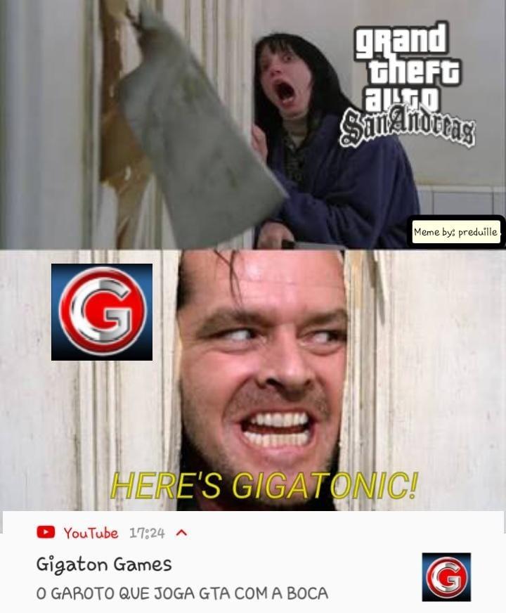GIGATON NA AREA - meme