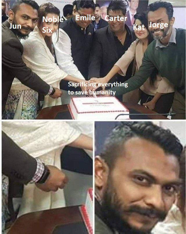 Jun was a sneaky cunt - meme