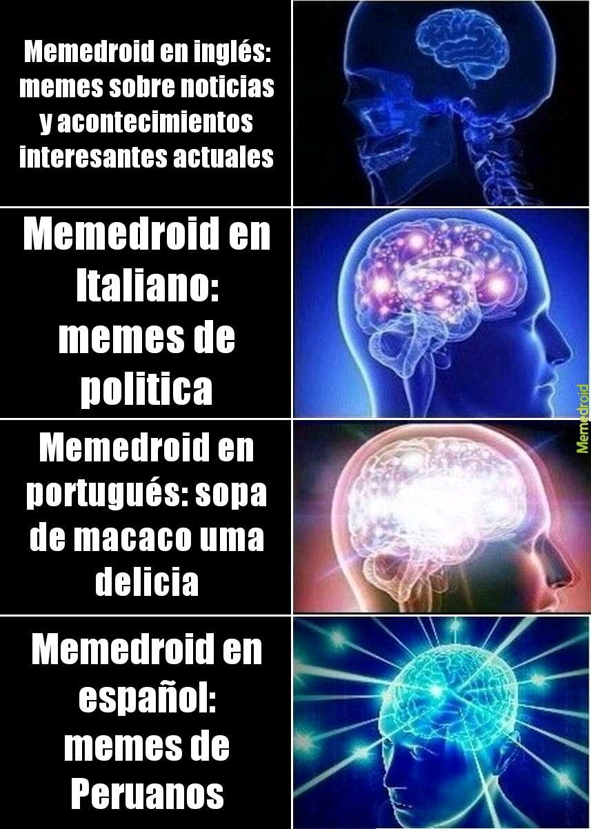 Peruanos for life - meme