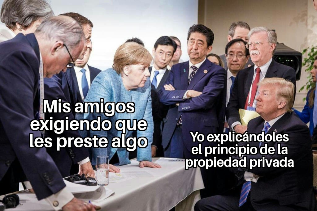 Mi propiedad - meme