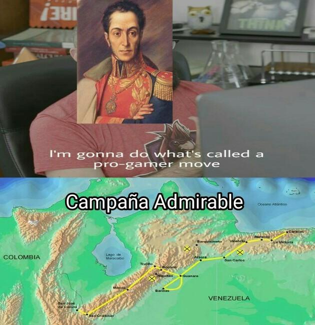 Y liberó Venezuela así de simple - meme