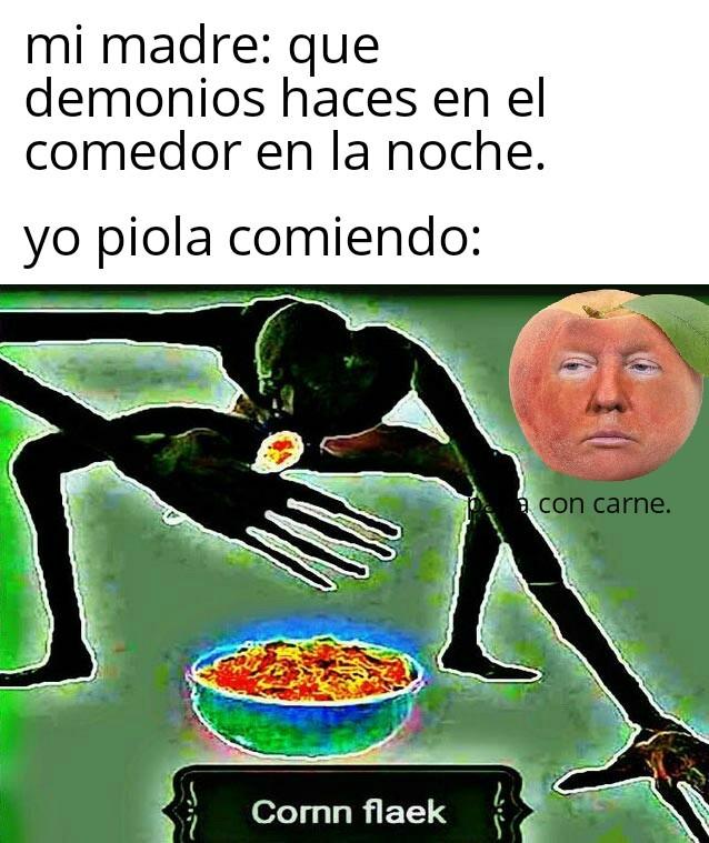 Corn flaek.com - meme