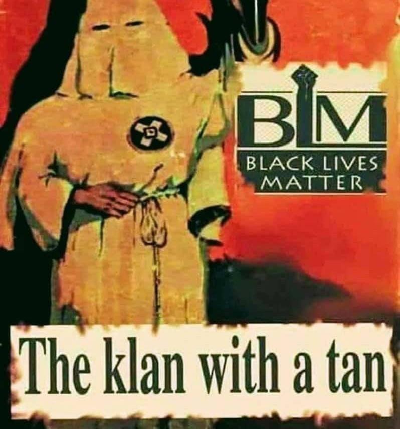 BLM is KKK for blacks. Change my mind - meme