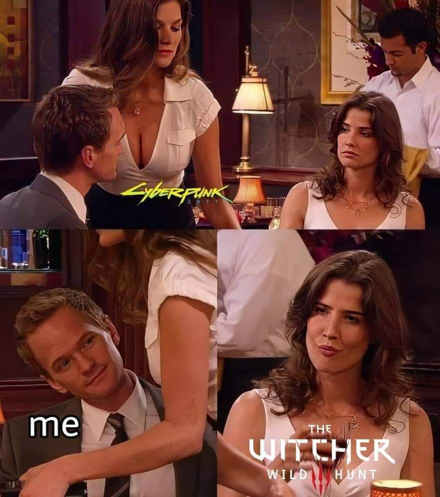 The Witcher 3 - meme