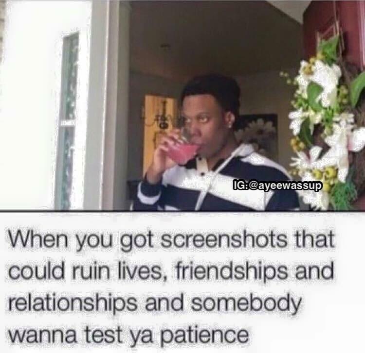 keep talking shit - meme