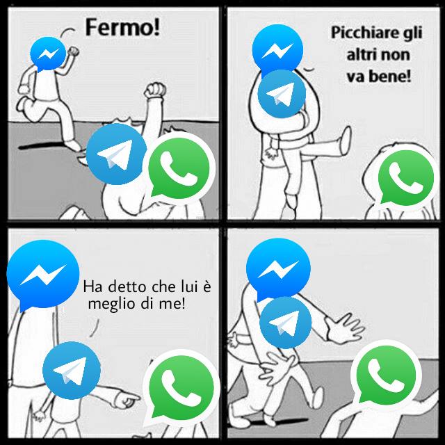 Wazzapp e + bll - meme