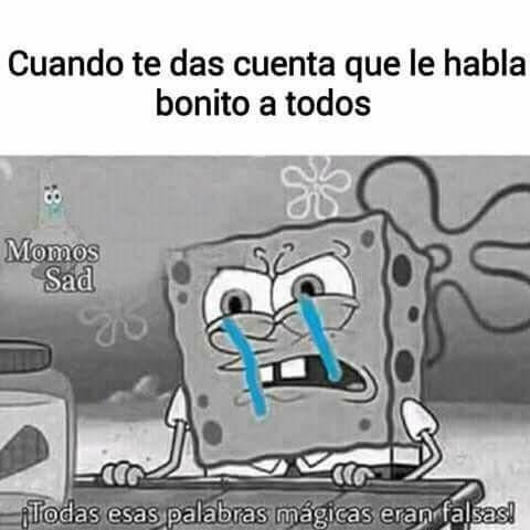 La cosa sad T~T - meme