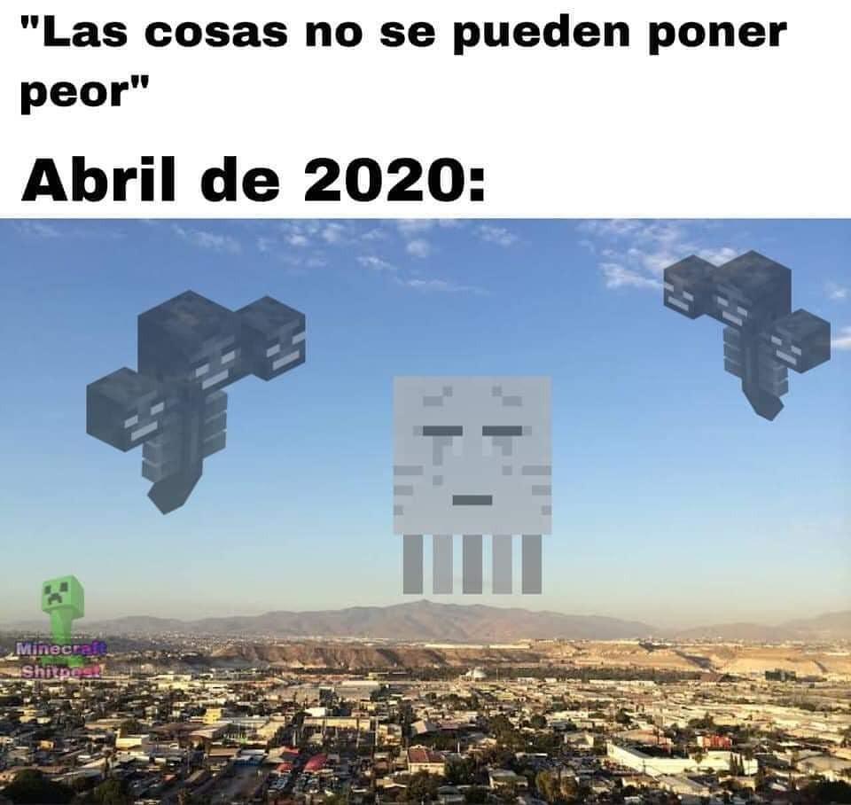Abril del 2020 - meme