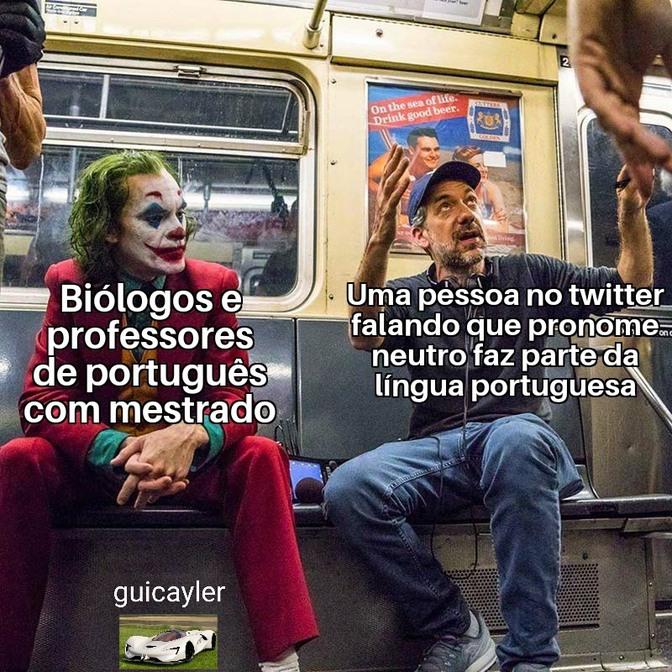 É foda saber que isso não está tão longe de ser mais relevante que biologia e língua portuguesa - meme
