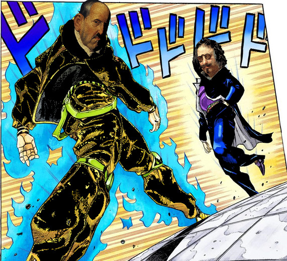 Pelea épica entre titanes - meme