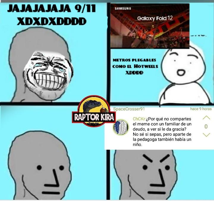 Que se puede esperar de un fan de attack on titan??? - meme