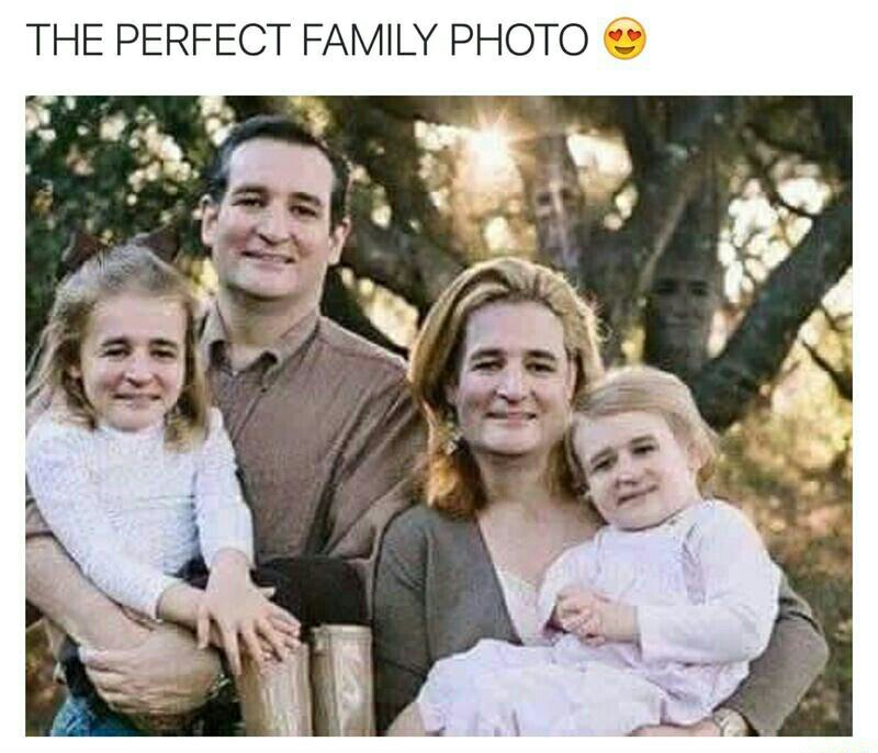 A beautiful family - meme