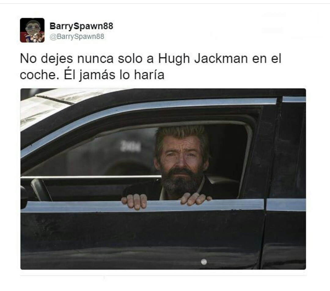 Pobre Hugh Jackman :'3 - meme
