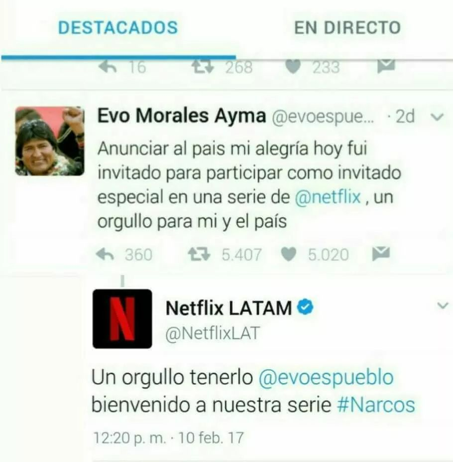 Narco Evo - meme