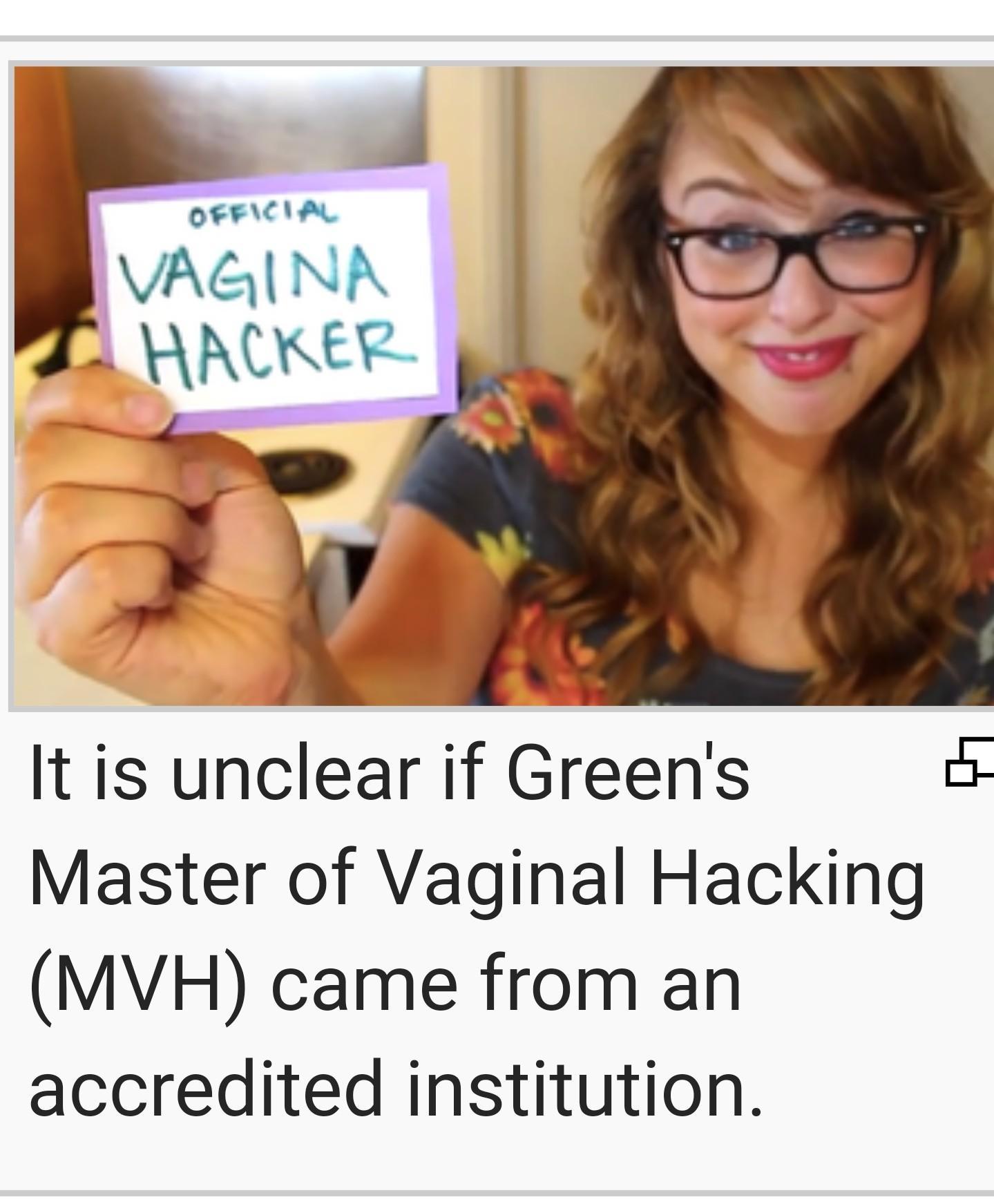 Vagene hacker - meme