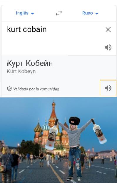 *Empieza a sonar  música rusa - meme