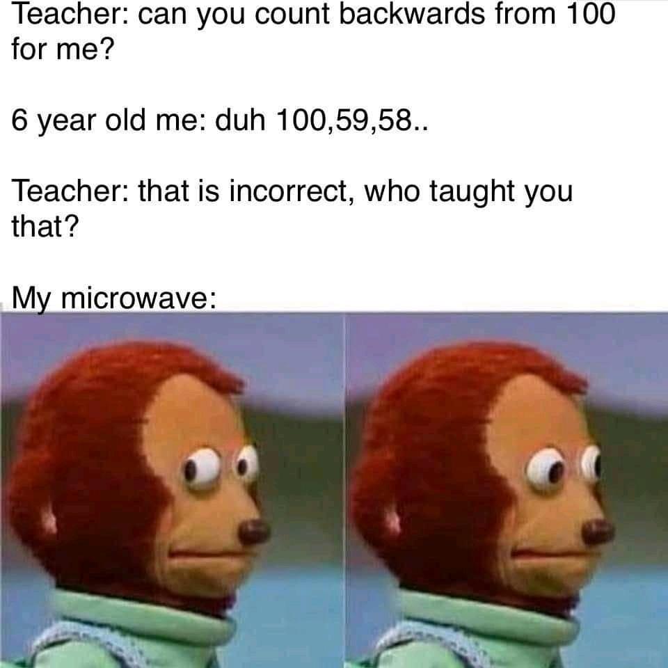A teacher - meme