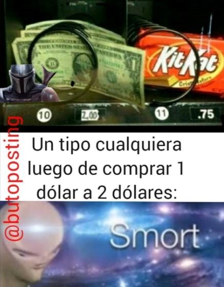 El titulo vende dinero - meme