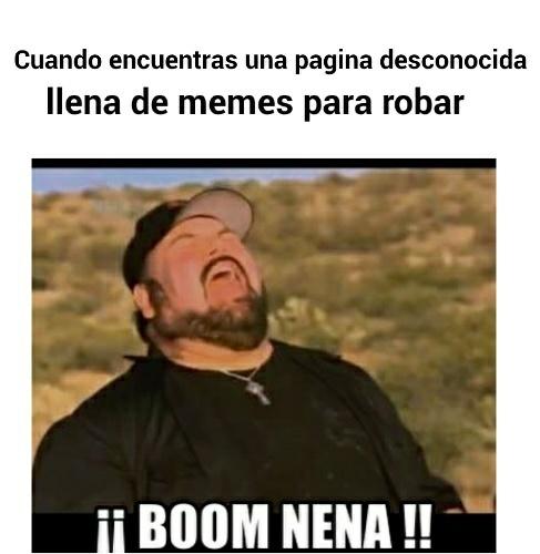 Boom nena! - meme