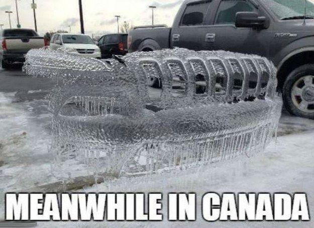 yay ice car! - meme