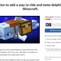 Only true Minecraft players would want dis.