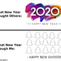 Happy New Ghosting
