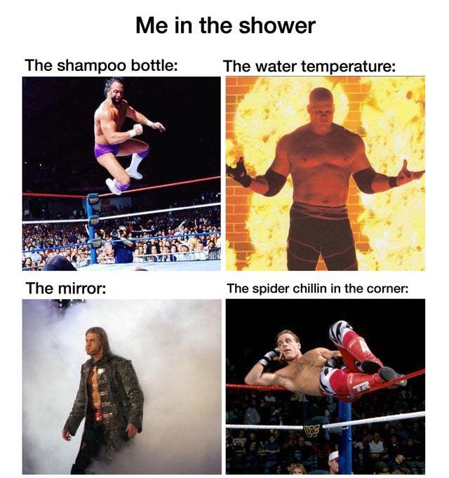 Me in the shower - meme