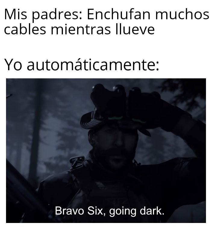 Bravo six - meme