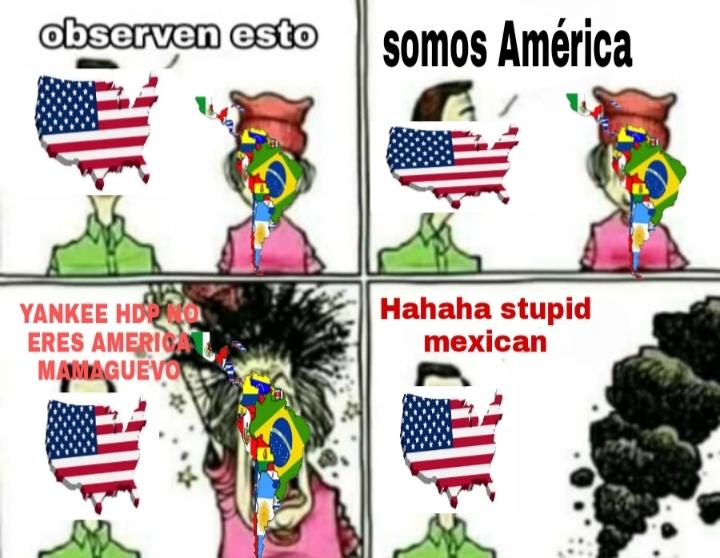 No defiendo a los yankees pero si es cierto que cualquier latino se arde por esto xd - meme