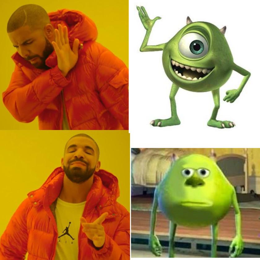 We All love the face swap - meme