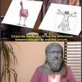 Behold! A man!