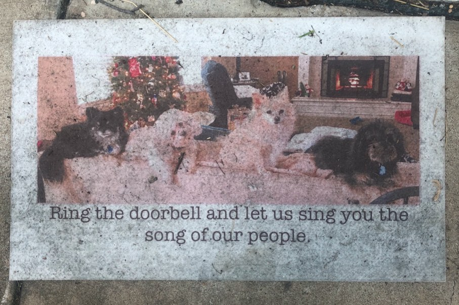 this doormat tho, i mean it's perfect - meme