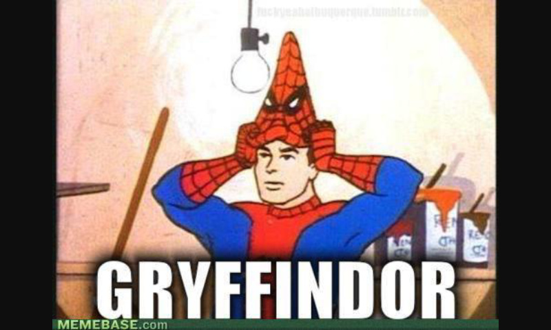 Spider Potter - meme